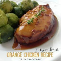 Three Ingredient Orange Chicken Recipe