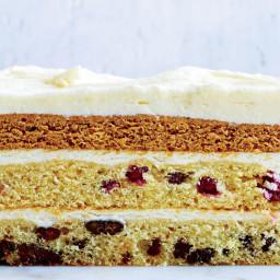 Three-Layer Thanksgiving Cake