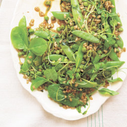 Three Peas with Barley, Chile & Green Garlic