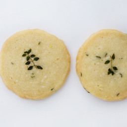 Thyme-Sea Salt Cookies