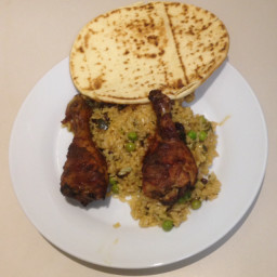 Tikka Masala Roast Chicken with Spiced Pilau Rice