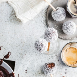 Tim Tam lamington balls