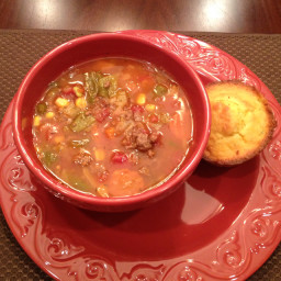 Timmy's Hamburger Soup