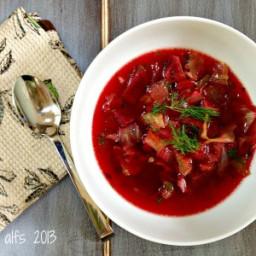 Adapted From Tim'e Borscht Soup