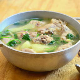 Tinolang Manok (Chicken in Ginger Broth)
