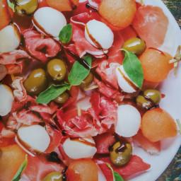 Tiny and Full Sunshine Summer Salad