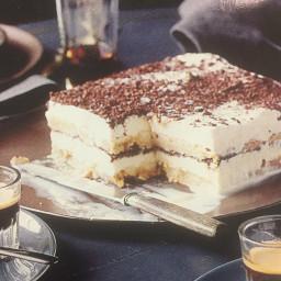 Tiramasu ice cream cake