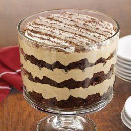 Tiramisu Brownie Trifle