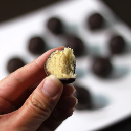 TLC - Low Carb Marzipan Coated in Dark Chocolate
