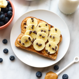 Toast Tuesday - Peanut Butter Banana