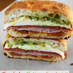 Toasted Italian Sandwich - Food Fun Friday