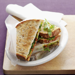 Toasted vegetarian sandwiches