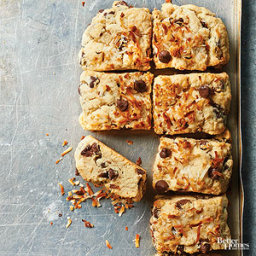 Toasted Coconut and Chocolate Chip Scones