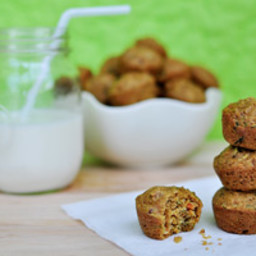 Toddler-Approved Veggie Surprise Mini Muffins