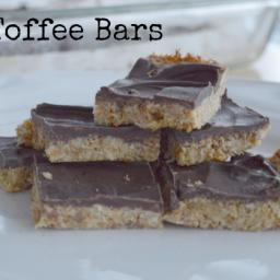 Toffee Bars (Grain Free, Dairy Free, Nut Free)