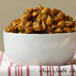 Toffee Candied Peanuts