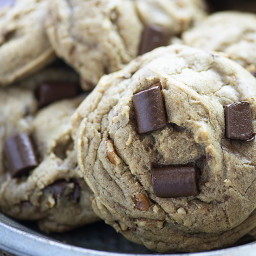 Toffee Pecan Chocolate Chip Cookies