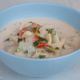 Tom Kha Gai Recipe (ต้มข่าไก่)