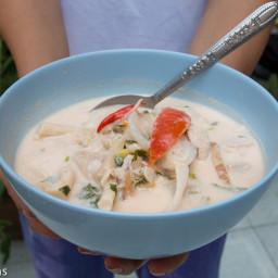 Tom Kha Gai Recipe (ต้มข่าไก่) - Authentic Thai Style