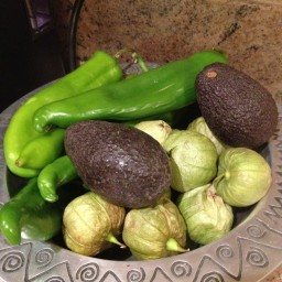 Tomatillo Green Chili Salsa