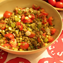 Tomato and Lentil Salad