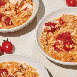 Tomato and Parmesan Risotto