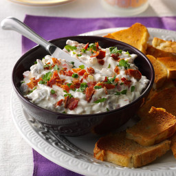 Tomato-Bacon Dip with Focaccia Recipe
