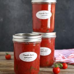 Tomato-Basil Marinara Sauce