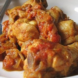 Tomato-curry Chicken