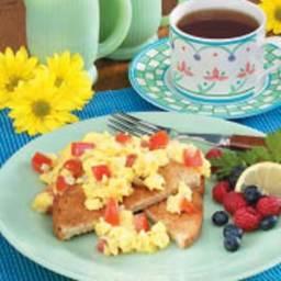Tomato-Egg Scramble Recipe