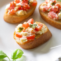 Tomato Feta Bruschetta