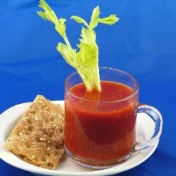 Tomato-Garlic Soup