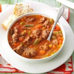 Tomato Hamburger Soup Recipe