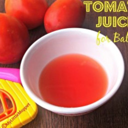 Tomato Juice for Babies