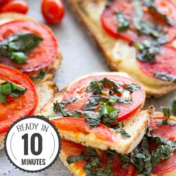 Tomato Mozzarella Bread