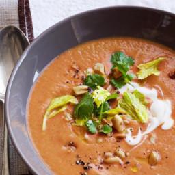 Tomato-Peanut Soup