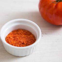 Tomato Powder From Tomato Skins