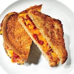 Tomato-Prosciutto Grilled Cheese