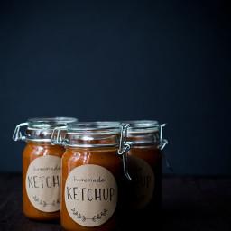 Tomato Rhubarb Ketchup