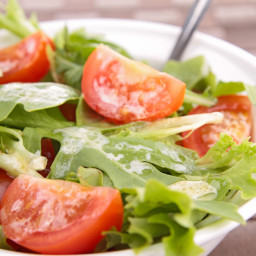 Tomato Salad with Remoulade Sauce
