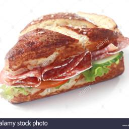 Tomato/Salami (Brown Bread)