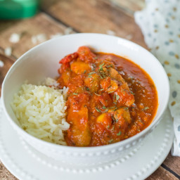Tomato Sauce with Sausages   Paleo, Gluten Free, Dairy Free