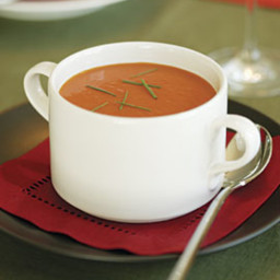 Tomato Soup with Orange and Cumin