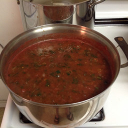 Tomato & Spinach Soup