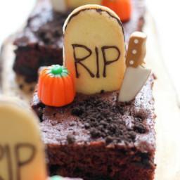 Tombstone Brownies