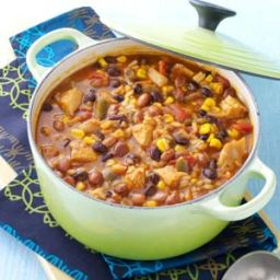 Tortilla Chicken Bean Soup Recipe