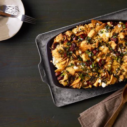 Tortilla Chip-Chorizo Stuffing