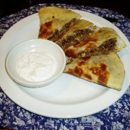 Tortilla Foldover with Beef