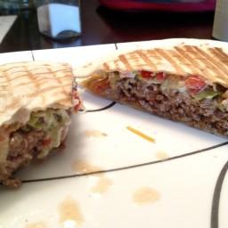 Tortilla Pico Burger