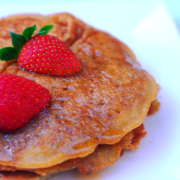 Tortitas sin huevo y sin leche